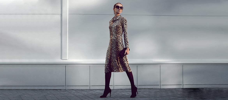 7a2178354db7d Jakie buty do sukienki w panterkę? Zobacz nasze inspiracje • Blog ...