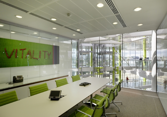 Unilever office london victoria embankment eoffice for Office design victoria