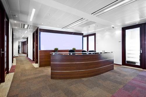 TARASY BUSINESS CENTRE - INOFFICE FRONT DESK AND LOBBY