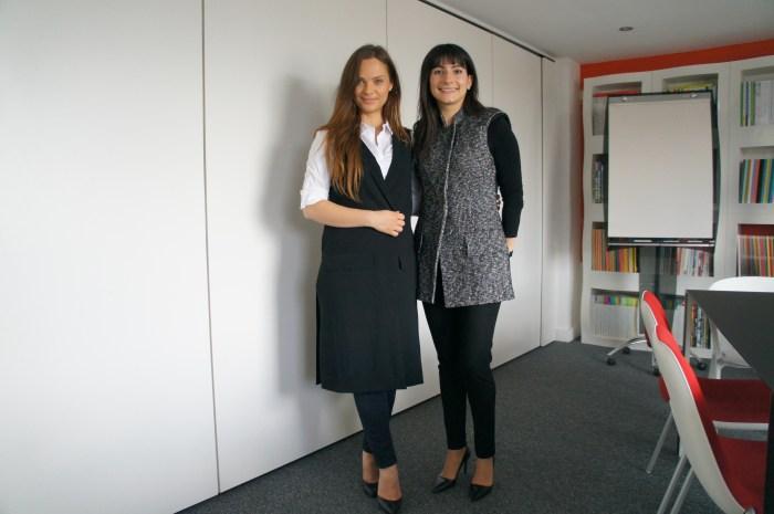 Viktoria Naumenko, Head of Marketing and PR & Iglika Ghouse, Founder and CEO USPAAH