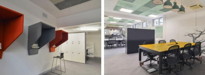 Copernico coworking space, Milan, Italy