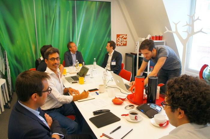 AngelsCube screening committee at eOffice Soho