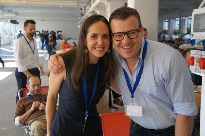 Sandra Ramirez, eOffice Sandra Ramirez, eOffice with Carlos Goncalves, Avila Coworking
