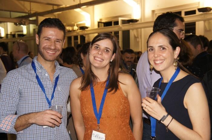 Miro Miroslavov, Office R&D with Clara Garcia and Sandra Ramirez, eOffice
