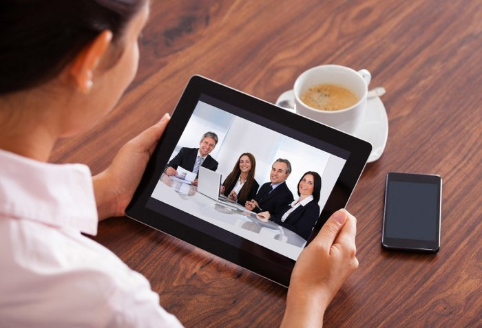 New trends - virtual meeting