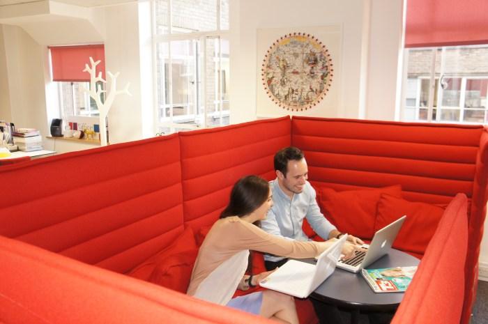 eOffice Holborn Breakout Area