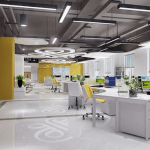 Colour Matching In Office Decoration Design