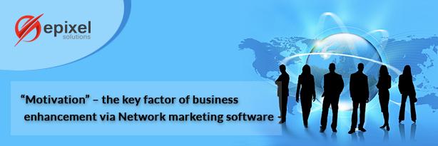 Motivation for business enhancement via marketing software
