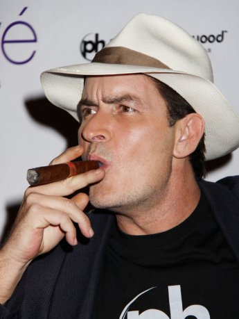 6. Charlie Sheen - Creepy 32%