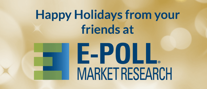 Happy Holidays from E-Poll Market Research