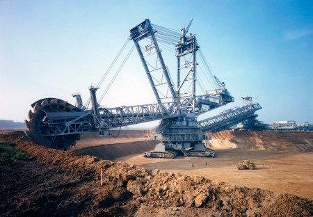 Engins de chantier - Bagger 293