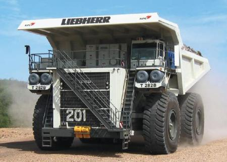 Engins de chantier - Liebherr T 282B