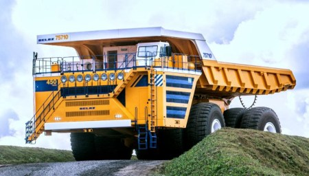 Engins de chantier - Belaz 75710