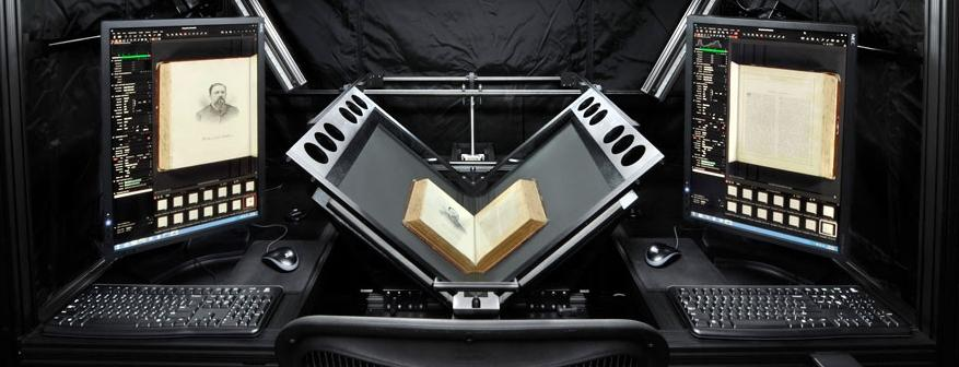 Oversize Book Scanning Services