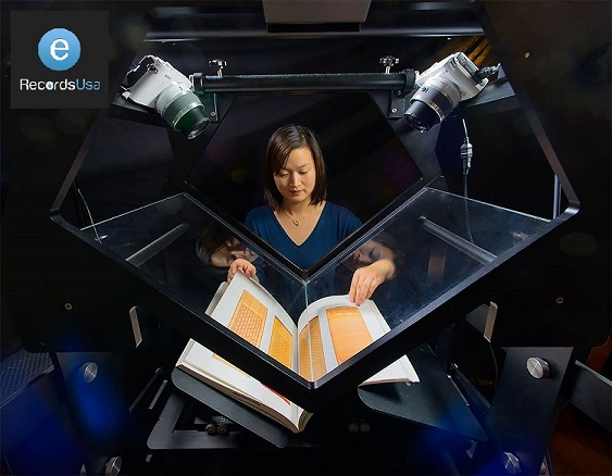 non-destructive book scanning service