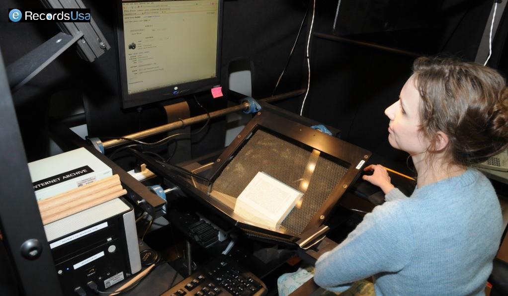 Digitizing Archival Material