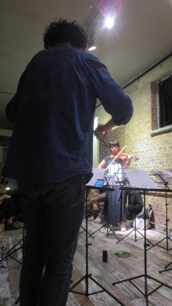 21 September 2016 Sheng Jie performing with Yan Yulong for MIJI Concert #39, at Meridian Space, Beijing