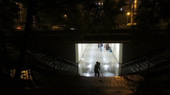 Zoomin' Nights in the Sanyuanqiao underpass