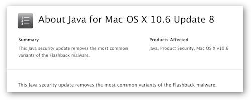 Latest Mac Java update