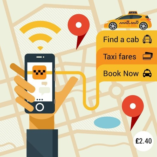 launch your taxi app