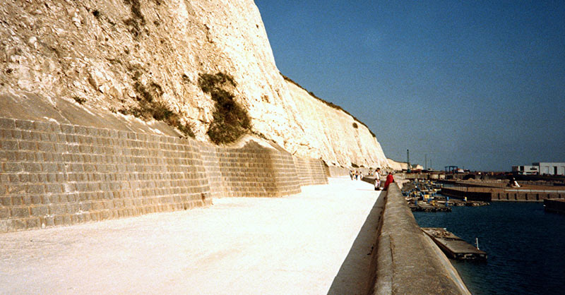 under cliff walk brighton