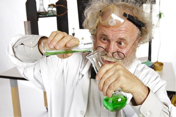 funny scientist
