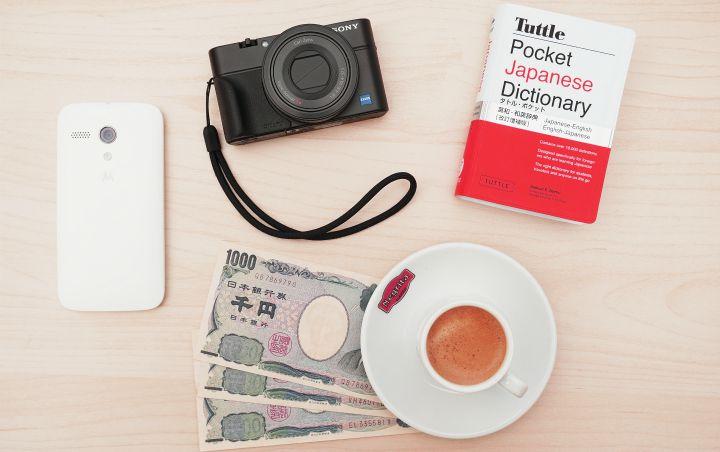 camera dictionary coffee
