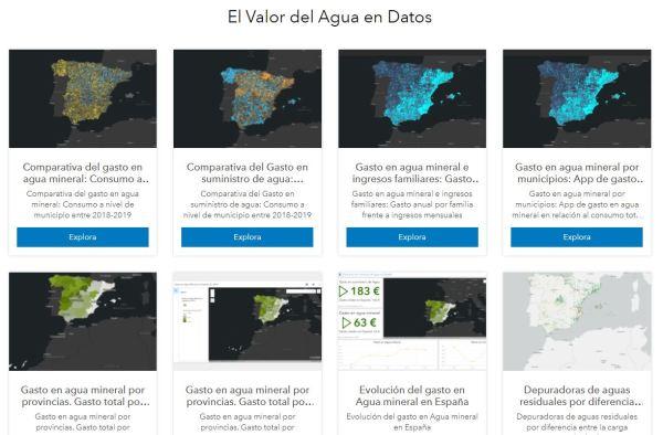 comunicar con mapas arcgis hub