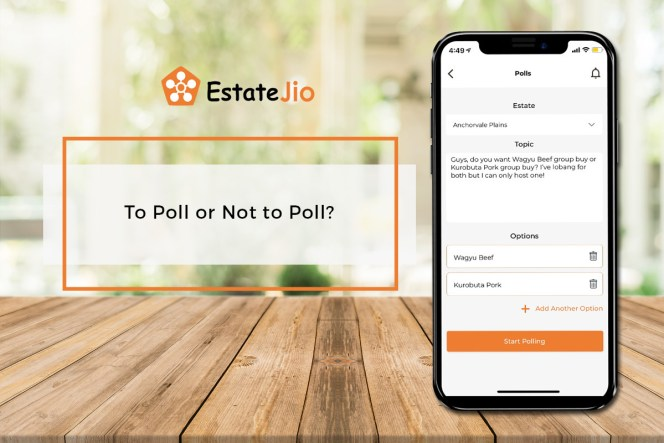 "Unsure What Is ""Polls"" on EstateJio? Read This To Learn More"
