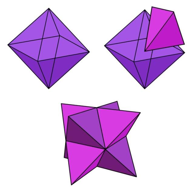 Oktaederstellatedoctahedron