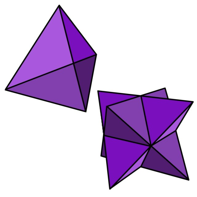 Tetraederstellatedoctahedron