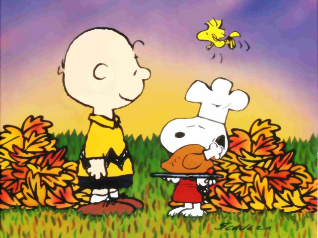 Ethan Holmes Snoopy-Thanksgiving