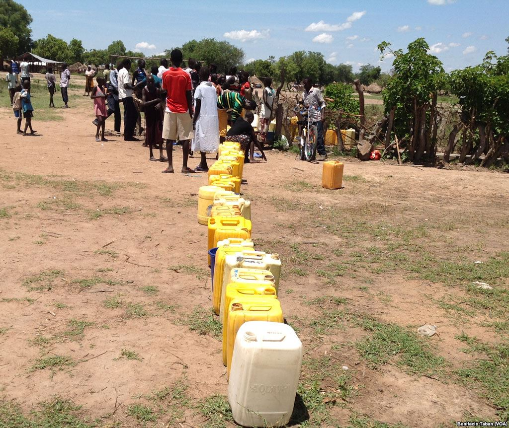 water acguisition in Uganda