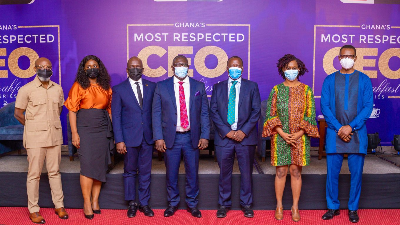 Ethel Cofie and the Banking CEO's