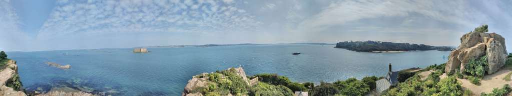Panorama Phare de l'île Louët