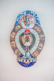 Mosaic Artwork by Karen Yust Photo Credit: Ruben Karel