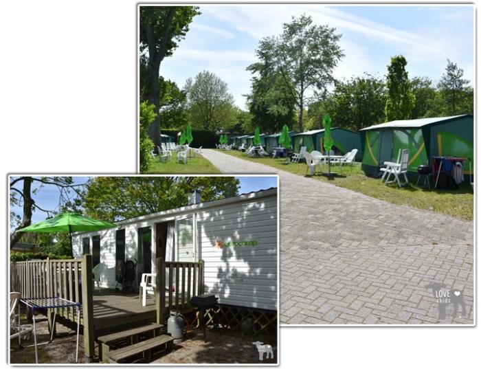 Eurocamp Vista stacaravan en bungalowtent op Duinrell