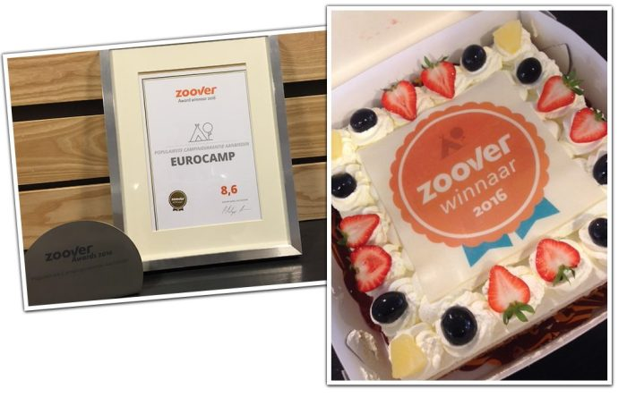Winnaar Zoover Awards 2016: Awards & taart
