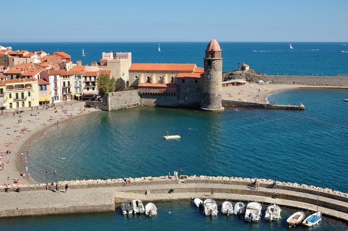 Collioure in de Languedoc-Roussillon - Eurocamp campingvakanties