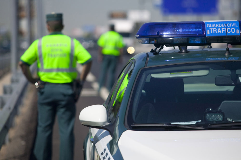 Descienden un 12% las víctimas mortales de accidentes en carretera durante el verano