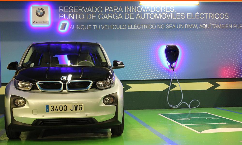 Nuevos cargadores BMW i Wallbox en dos Corte Inglés de Madrid