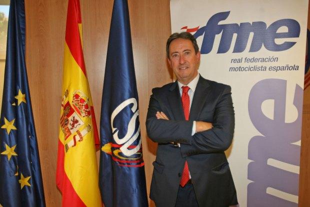 Manuel Casado, Presidente de la RFME