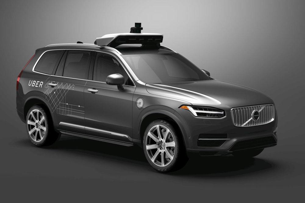 Volvo y Uber colaborarán en la realización de coches autónomos