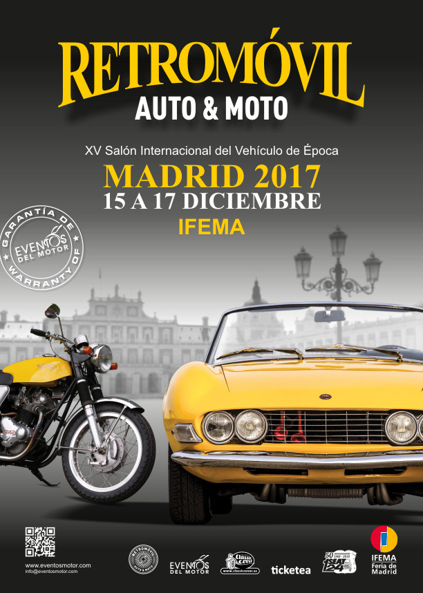 Cartel Retromovil 2017