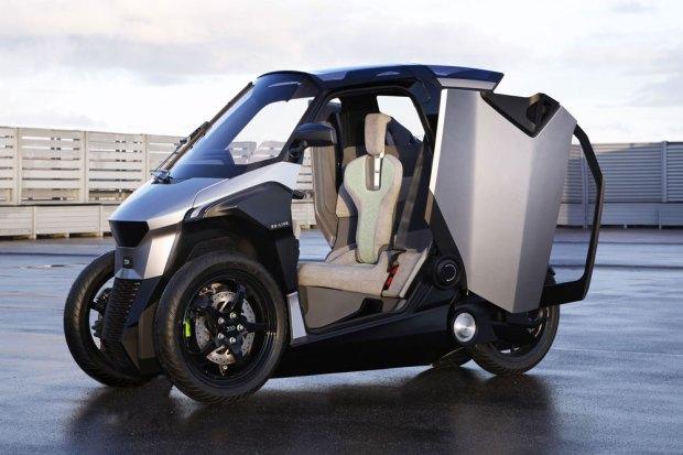 Prototipo de Peugeot Scooter Electrico