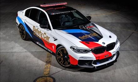 """BMW M celebra 20 años como el """"vehículo oficial de MotoGP™"""""""