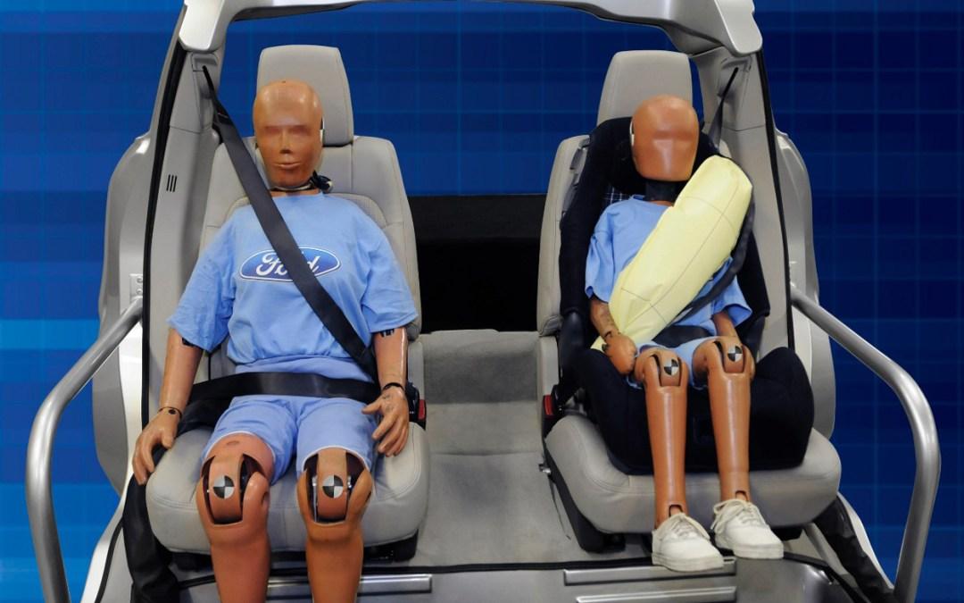Test con cinturón de seguridad
