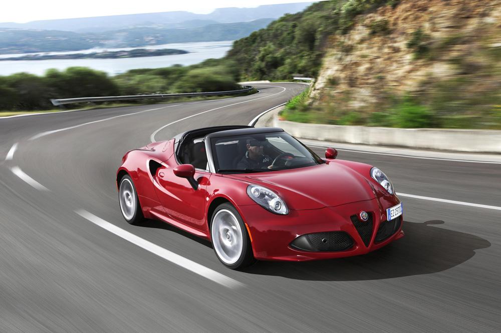 Alfa Romeo C4 Spider
