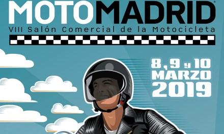 MotoMadrid 2019 se celebrará del 8 a 10 de marzo