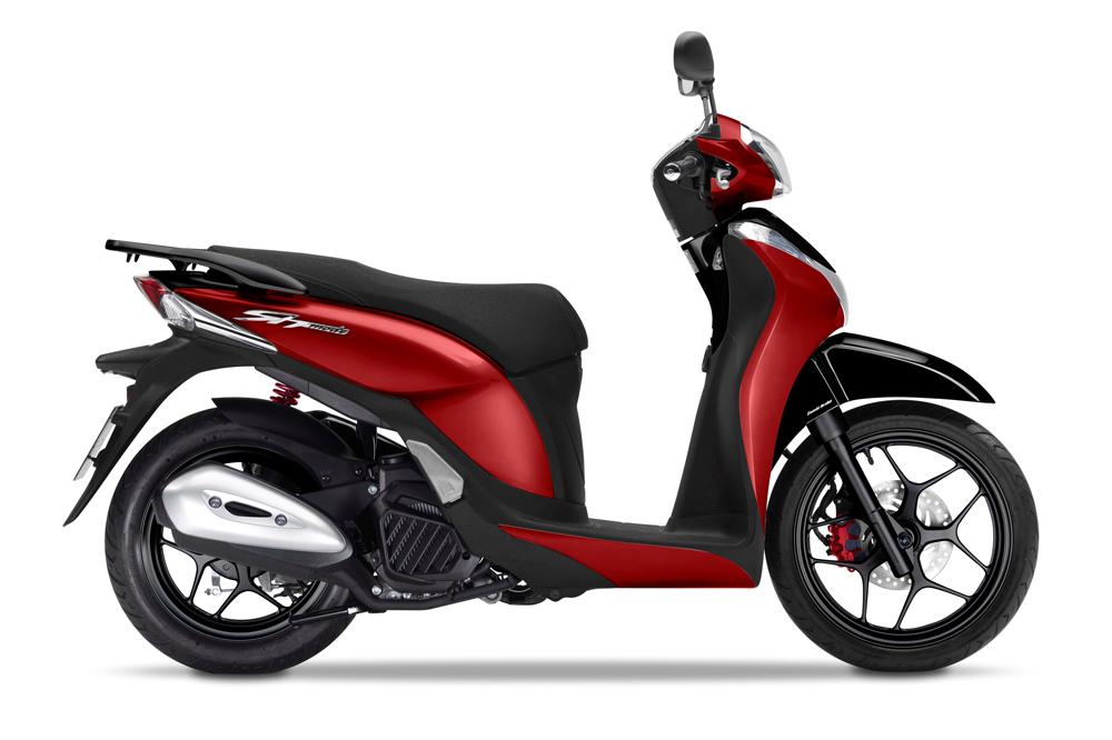El Honda SH 125, entre los modelos más vendidos en España